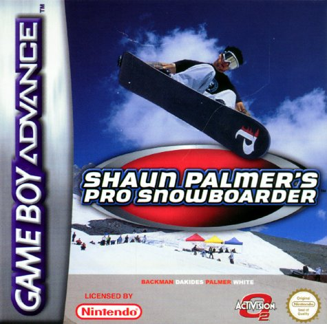 Shaun Palmers pro snowboarder - Game Boy Advance - PAL