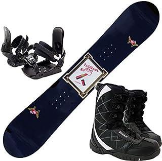 ロシニョール(ROSSIGNOL) 3点セット スノーボード 15-16 MYTH LTD AMPTEK 金具付き ブーツ付き