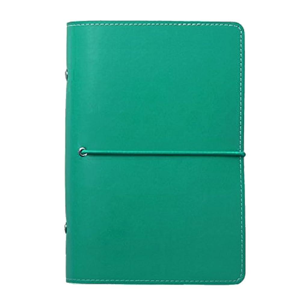 密接に失効基本的なLabon'sA6システム手帳 2019 ブック、ハンドアカウント、軽量で持ち運びが簡単(グラスグリーン)