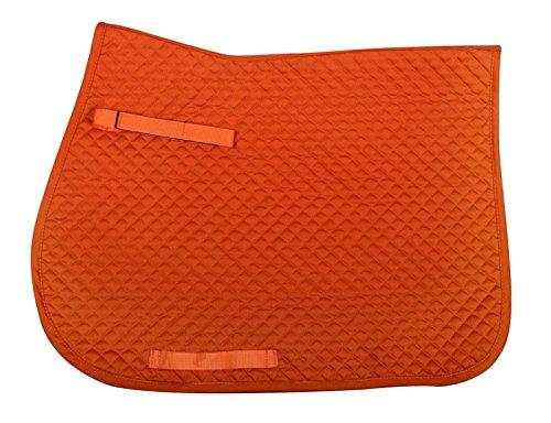 QHP Schabracke Color Basismodell kleine Rautensteppung diverse Größen und Farben (Shetty VS, Orange)