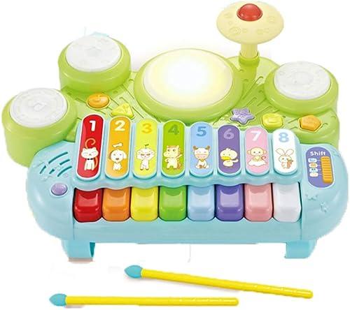 excelentes precios LIPENG-TOY Juguetes Infantiles de música Infantil Batería Pat 0-1-3 0-1-3 0-1-3 años Bebé Tambores de Mano Bebé Juguetes de educación temprana (Color  a la venta
