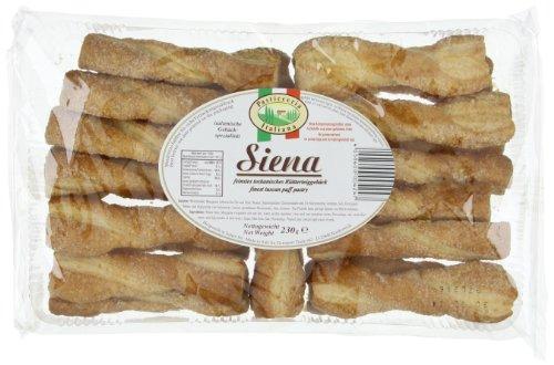 Pasticceria Italiana Sienna Blätterteiggebäck 230 g, 9er Pack (9 x 230 g)