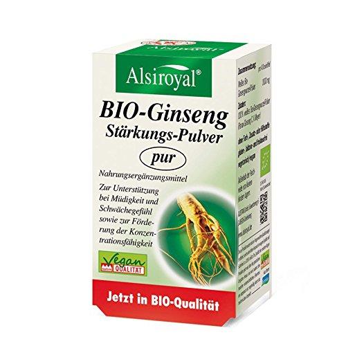 BIO-Ginseng Stärkungs-Pulver pur (30 g)