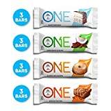 ONE Protein Bars, Best Sellers Variety Pack, Gluten Free 20g Protein and only 1g Sugar, Birthday...