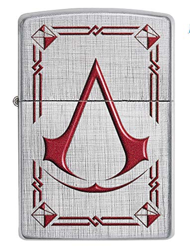 Zippo Assassin\'s Creed Feuerzeug, Messing, Design, 5,83,81,2