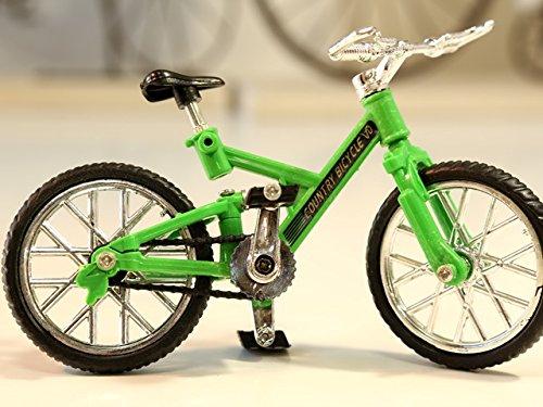 マウンテンバイク(MTB) 自転車ミニチュア 自転車模型 グリーン