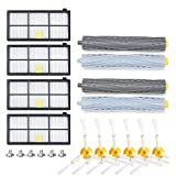 Yimaler 20pcs Accessories Replacement Part for Irobot Romba 800 900 series 880 860 870 871 980 990 Replenishment Kit Vacuum Cleaner Filters Side Brushes Extractors …