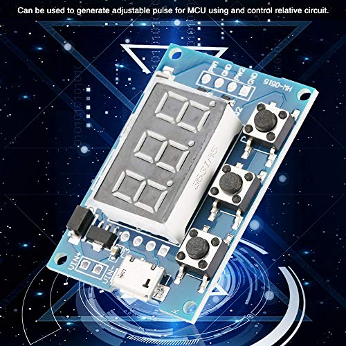 Oumefar Einstellbarer Wellenrechteck-Signalgenerator für Digitale Schaltkreise