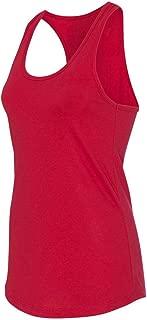 Next Level Apparel Women's Tear-Away Tank Top, Red, X-Large