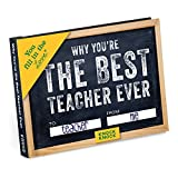 Knock Knock Why You're the Best Teacher Ever Fill in the Love Book Fill-in-the-Blank Gift Journal (You Fill in the Love)