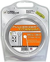 Weed Warrior 17061 Titanium Trimmer Line, 0.095
