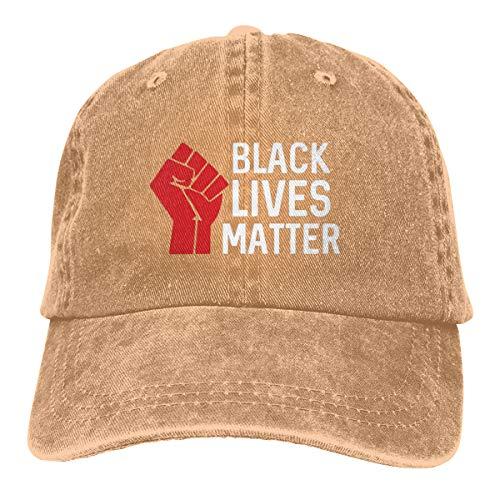 Unisex I Can't Breathe Black Lives Matter Trucker Caps Jeans Baseball Cap Vintage Dad Hat