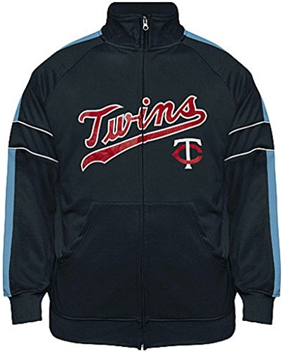 Twins athletic zip up jacket