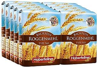 Roggenmehl Type 997 DE 960 AT Hochwertiges Mehl - gentechnikfrei und pestizid-kontrolliert | Ideal zum Backen von Brot, Lebkuchen und Gebäck