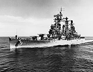 Home Comforts The U.S. Navy Guided Missile Cruiser USS Topeka (CLG-8) underway on 9 July 1964. Vivid Imagery Laminated Poster Print 24 x 36