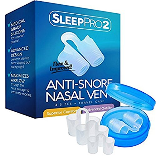 Premium Anti-Snore Nose Vents Snore Stopper Sleep Aid Device Snoring Solution Naturally and...