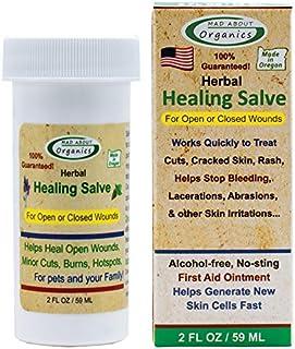 Mad About Organics Herbal Salve 2oz