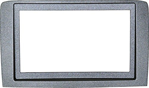 Mascherina Autoradio 2DIN Adattatore Stereo Lancia Musa Silver 09>
