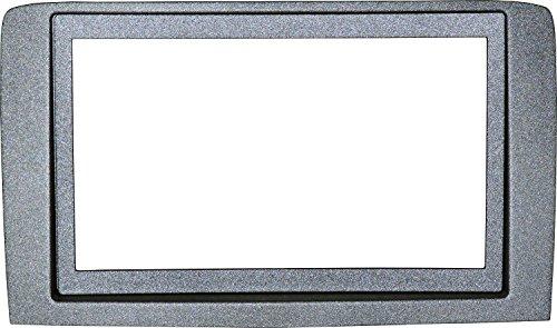 Mascherina Autoradio 2DIN Adattatore Stereo Lancia Musa Silver 09