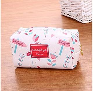 Polykor Fashion Fashion Foldable Storage Bag Cosmetic Pouch Bag Make-up Bag Wash Bag for Women(Pink)