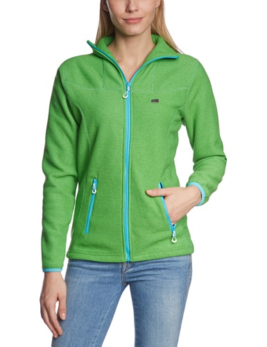 2117 of Sweden Damen Fleecejacke Ladys 3D Storklinten, S-Green, 40