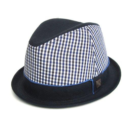 DASMARCA-Collection été-Chapeau tressé Bleu Marine-Lisbonne-L
