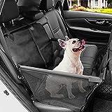 Asiento del Coche de Seguridad para Mascotas Protector del Coche para Perros Impermeable Extraíble Plegable Asiento Trasero para Mascotas del Coche para Viaje