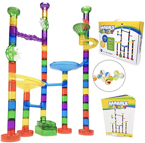 Marble Run Sets for Kids Activities - Marble Galaxy Fun Run...