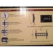 Sanus VMPL50B Vision Mount Tilting Mount For 30 Inch- 56 Inch Displays - Black