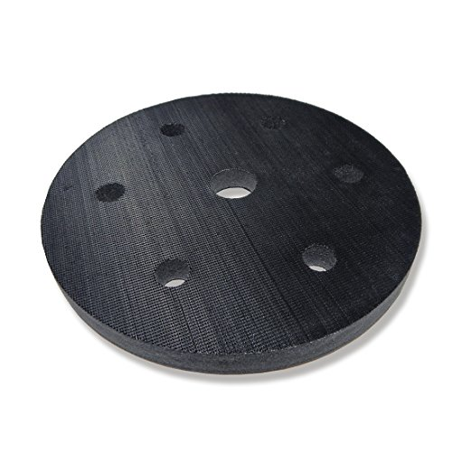 MENZER Cepillo de Esponja con Velcro (225 mm, Blando) para Lijadoras para Paredes en Seco