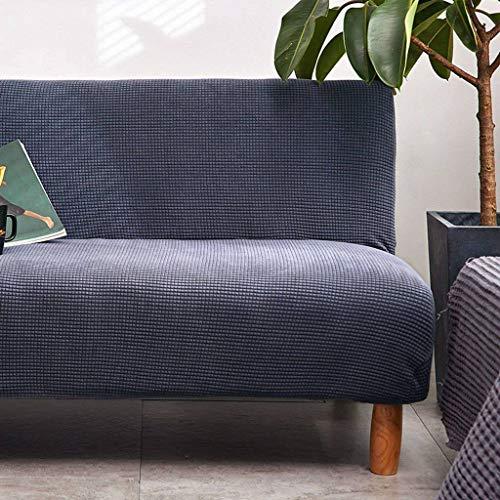 sofá azul de la marca SHAFAJNC