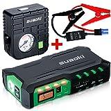 Suaoki Auto Starthilfe 18000mAh 600A Autobatterie Anlasser und Ladegerät, LCD Display und LED...
