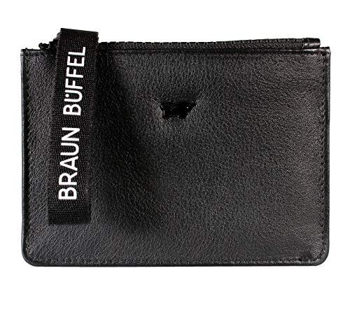 Braun Büffel Capri 4CS - Cartera (tamaño pequeño), color negro