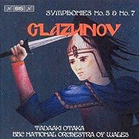 Glazunov - Symphonies Nos 5 & 7 (2004-06-28)