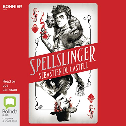 Spellslinger audiobook cover art