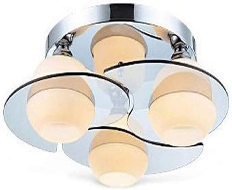 Chandelierround Ceiling Light, Loft Kitchen Led Ceiling Lights Industrial Vintage Chandelier Lamp Fixture
