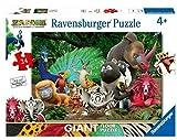 Ravensburger Zafari Puzzle 24 Giant Pavimento, Multicolore, 03039...