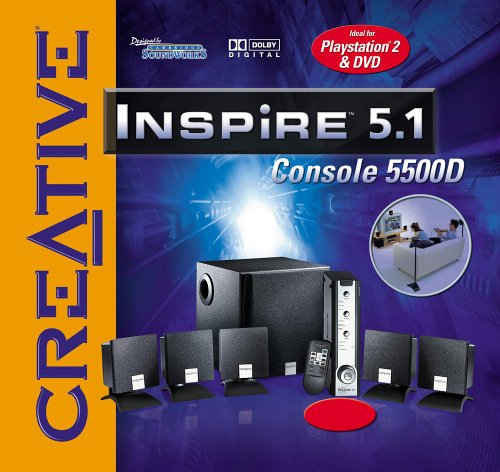 Playstation 2 - Soundsystem CREATIVE Inspire 5.1