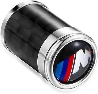 S-WEKA M Line Carbon Fiber M-TECH Sports Style Car Tire Wheel Valve stem caps Fit for BMW All Model 4-pcs Set