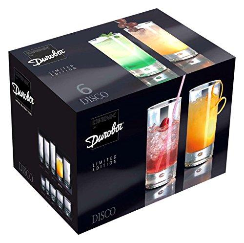 Durobor - Set di 6 bicchieri da 34 cl