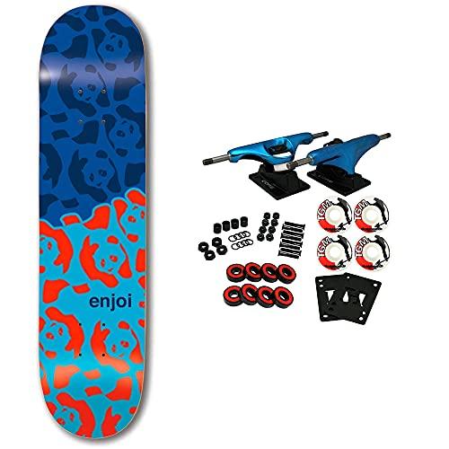 "Enjoi Skateboard Complete Cornacopia Blue 8.25"" x 32.1"""