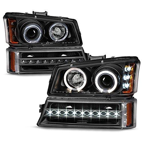 06 silverado black headlights - 7