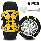 Best Snow Chains - Buyplus Upgrade Snow Chains for Cars - 6 Review