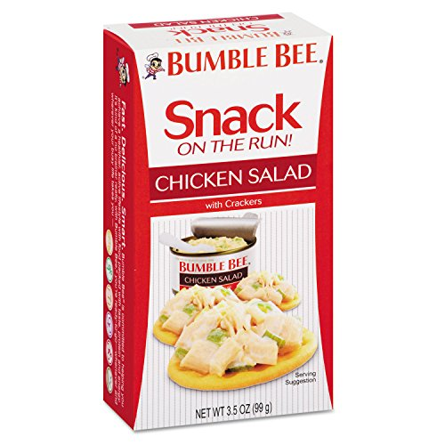 BUMBLE BEE Snack on the Run! Chicken Salad with Crackers (Pack of 12 / 3.5 oz kit)