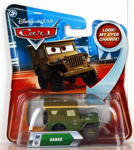 Disney Pixar - Cars - #30 Sarge - Lenticular Vehicle - Look! My Eyes Change!