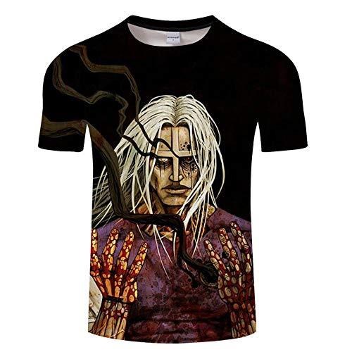 T Shirt Hommes Chemises 3D Imprimer Fitness Respirant Bodybuilding Tees Été Casual Séchage Rapide Mâle Asiatiquexxl Txkh1358