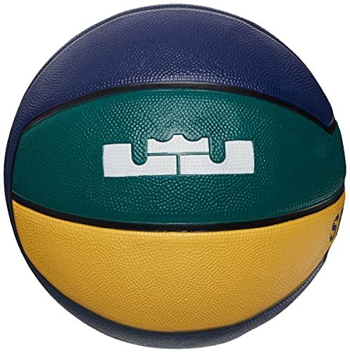Nike Lebron Playground 4P N0002784490 N0002784490_7 - Balón de Baloncesto Unisex, Multicolor