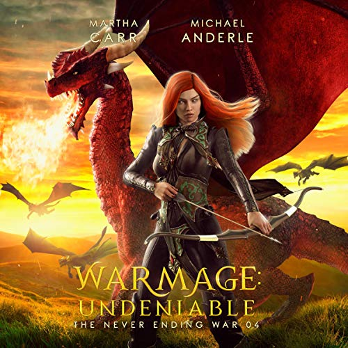 Warmage: Undeniable Audiobook By Martha Carr, Michael Anderle cover art