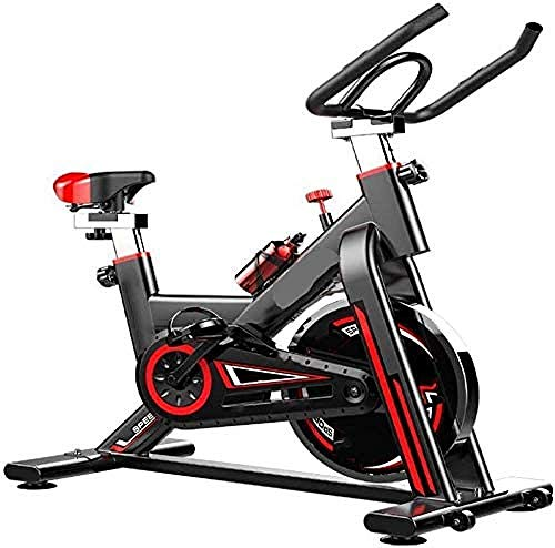 Exercise Bike Indoor Cycling Bike Stationary with Comfortable Seat Cushion Tablet Holder for Home Workout-B