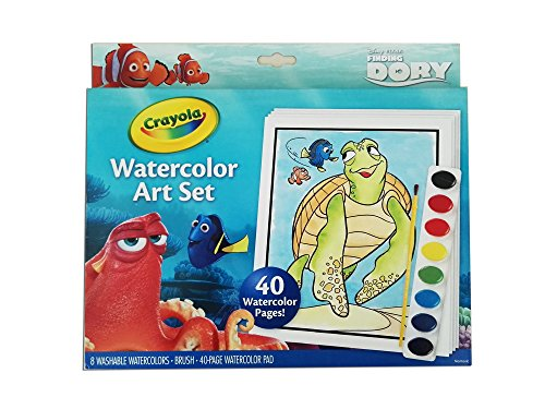Crayola Finding Dory Watercolor Art Set